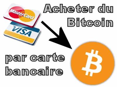 Acheter des bitcoins par carte bancaire nfl point spread betting explained lyrics